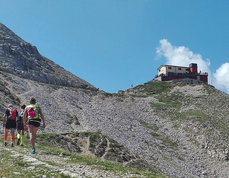 Cima Carega – Rifugio Fraccaroli da Ala