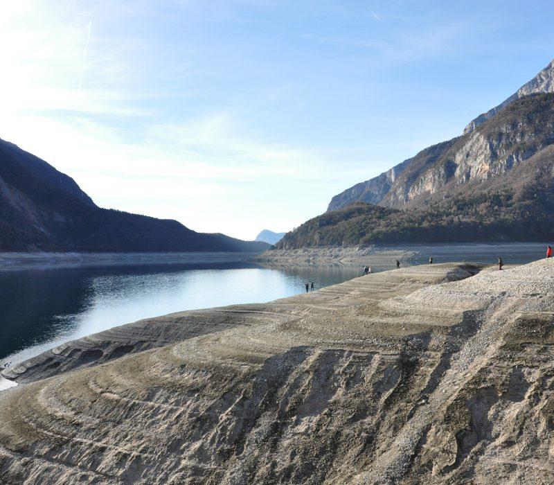 Il lago (di Molveno) che non c'è!