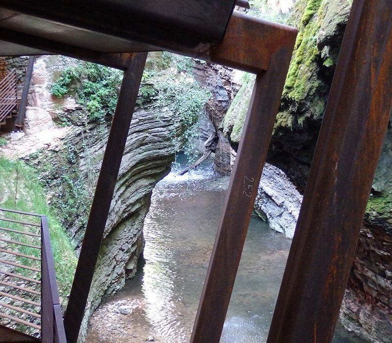 Alla scoperta dell'Orrido di Ponte Alto, a Trento