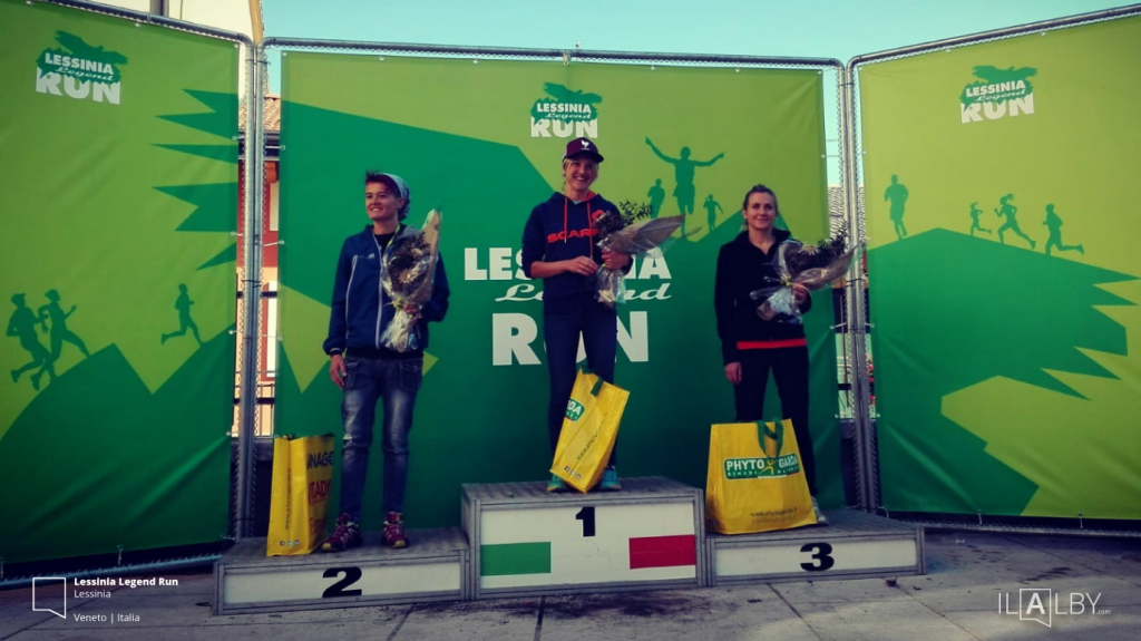 podio femminile lessinia legend run