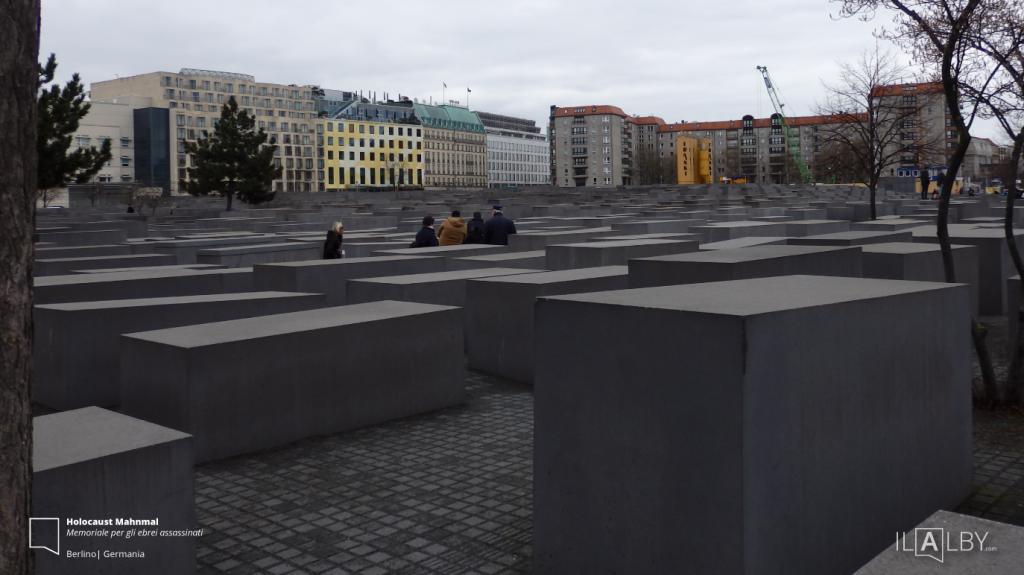 Holocaust-Mahnmal-Berlino