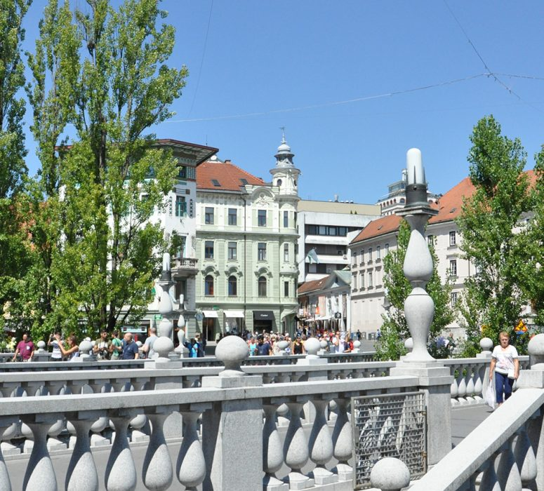 "Lubiana, la capitale verde d'Europa 2016, ""mordi e fuggi"""